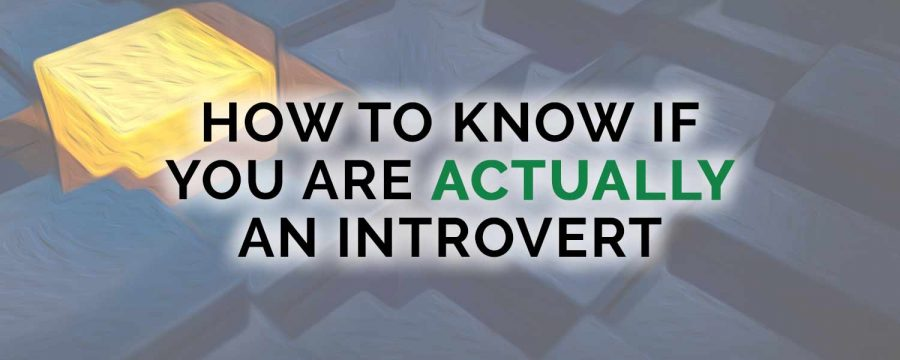 How to Know if You are Actually an Introvert
